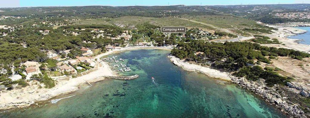 Camping Marseille pas cher pour voir les calanques